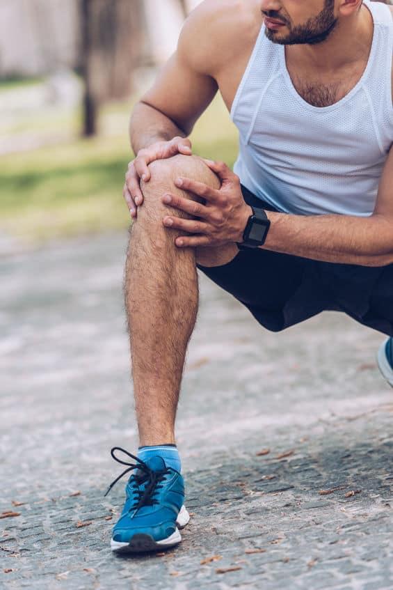 douleur genou au sport ostéopathie
