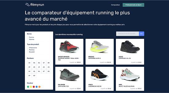 Choisir ces chaussures de running Fit My Run