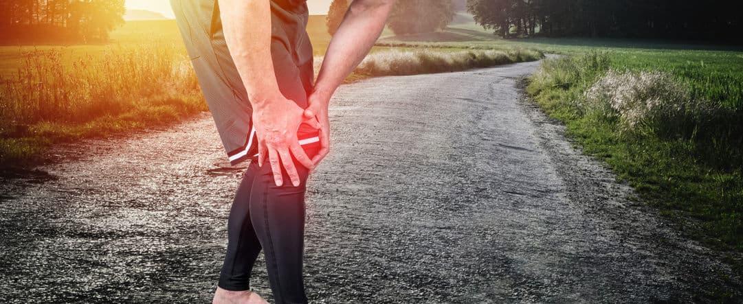douleur genou sport course