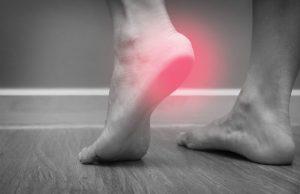 douleur talon voute plantaire pied